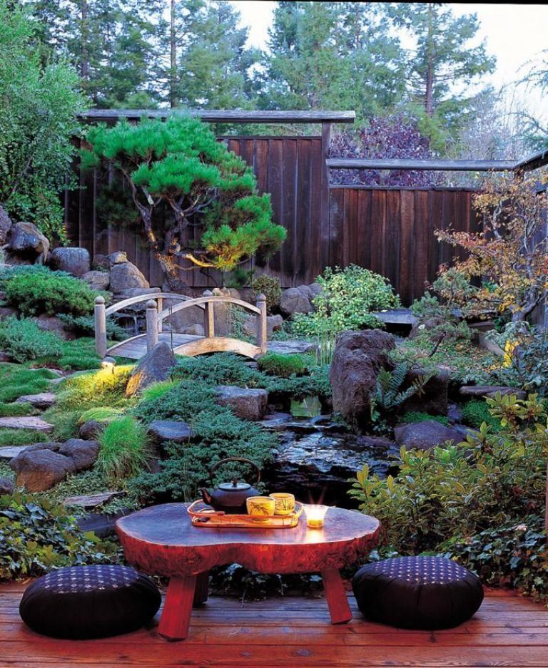 Beautiful Backyard japanese garden