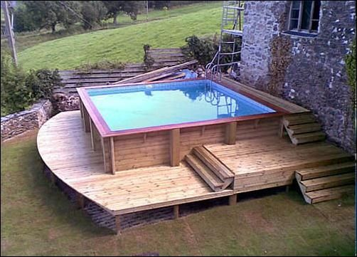 Bed like Pool for Patios