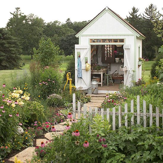 Cottage Style Garden Shed