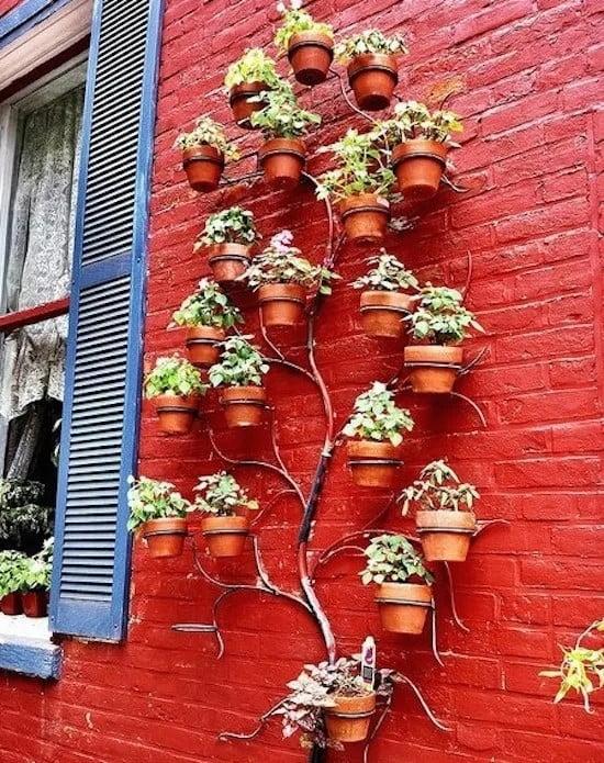 Designer Vertical Planter