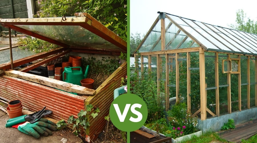 Difference Between a Greenhouse and Cold Frame