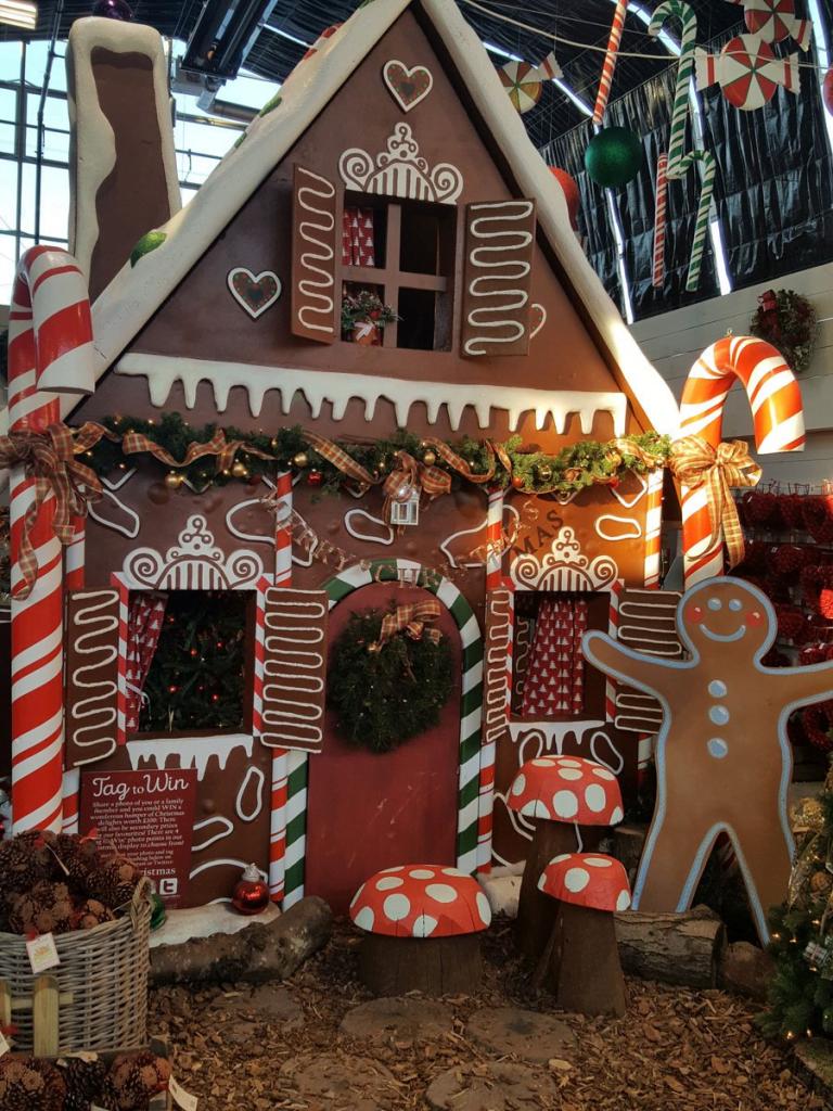 Gingerbread Garden Shed