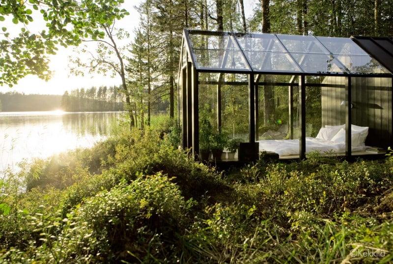 Glass garden Shed