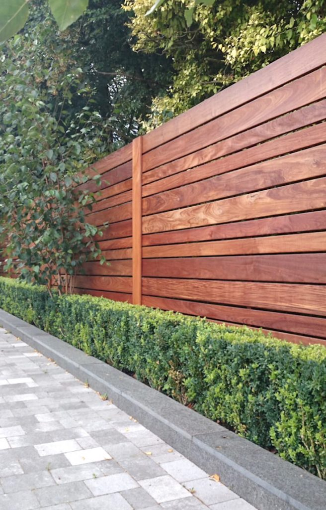 Horizontal Wooden Fence