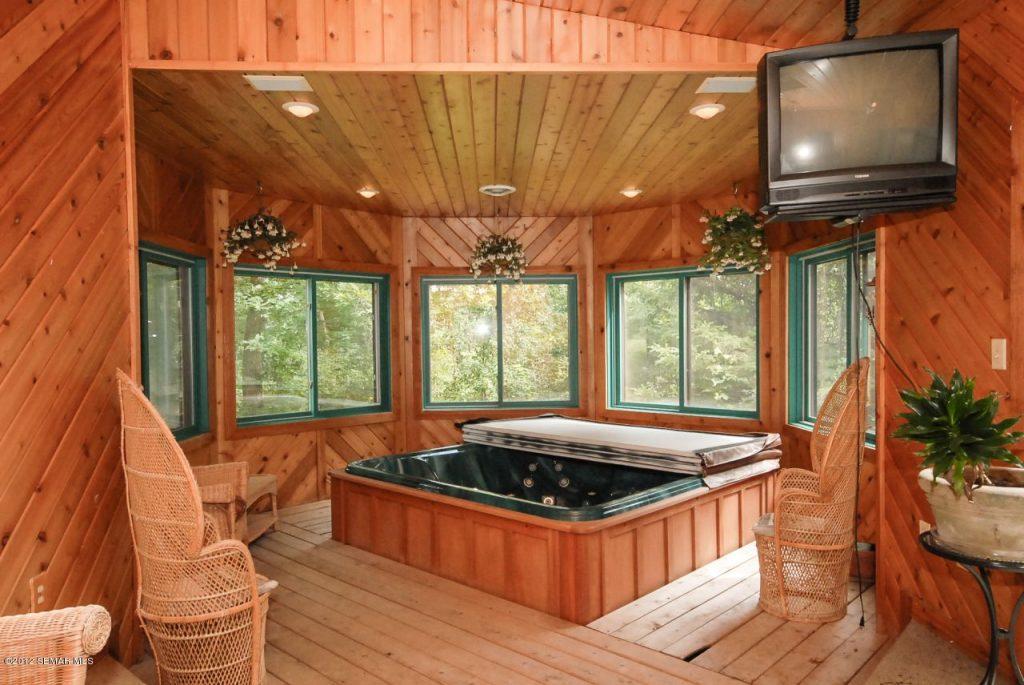 Indoor Hot Tub Enclosure