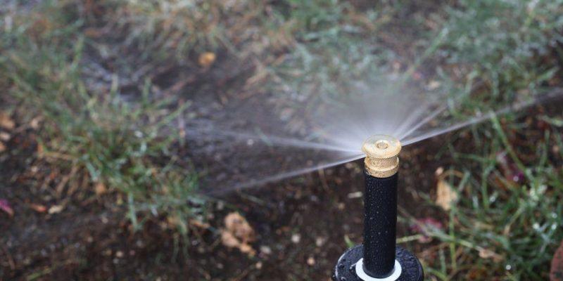 Installation of Sprinkler System with Sprinkler System Layout