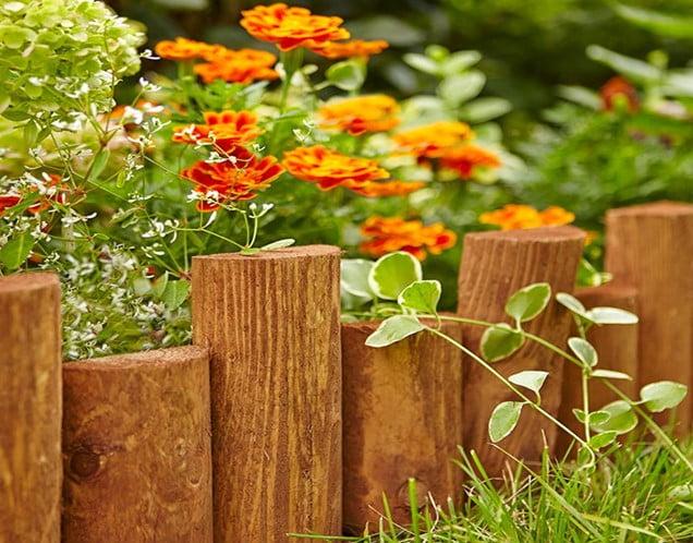 Log Edging