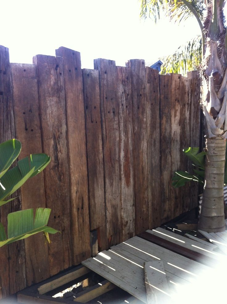 Recycled Timber Fence
