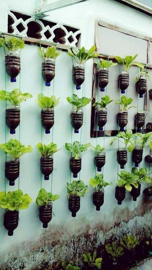 Recycled Vertical Planter
