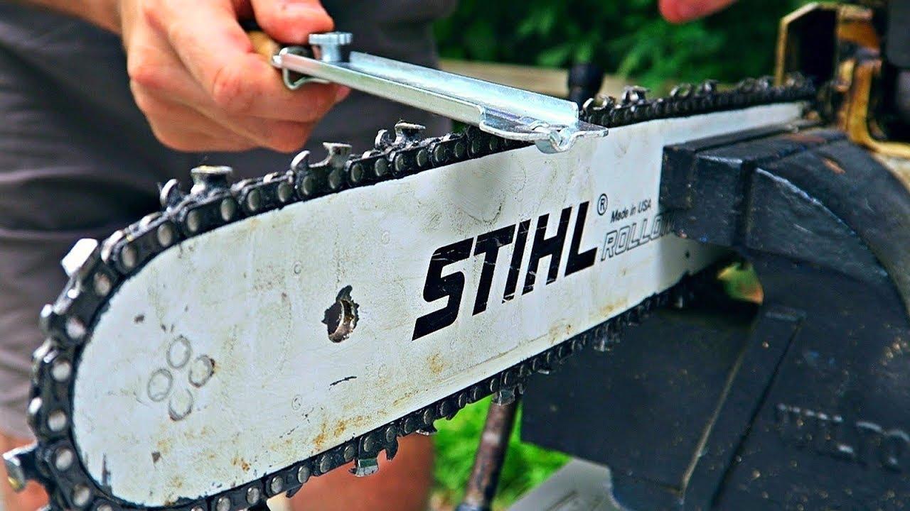 Sharpen A Chainsaw