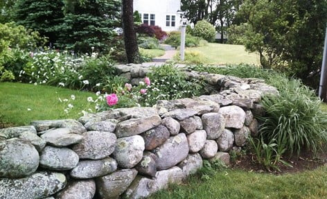 Small Rock Wall Design