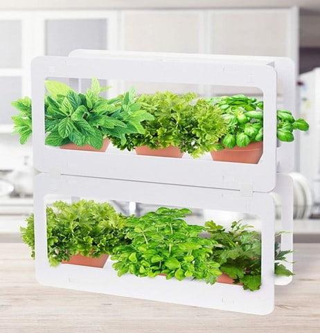 Stackable LED Indoor Garden