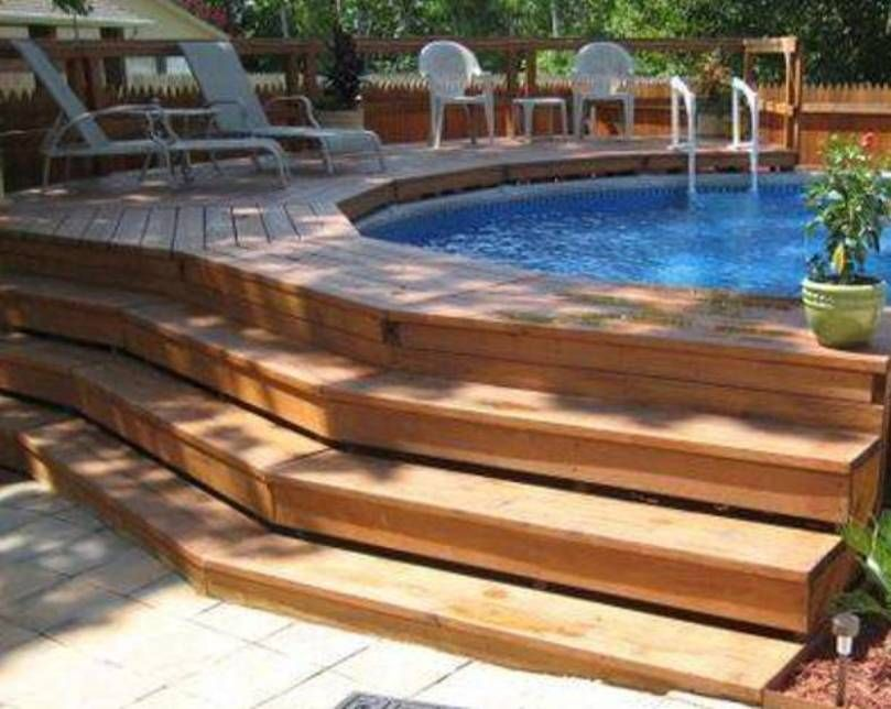 Staircase Above Ground Pool