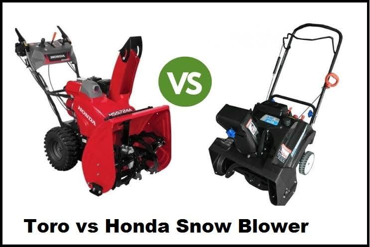 Toro vs Honda Snowblowers
