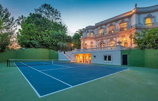 Traditional Tennis Court