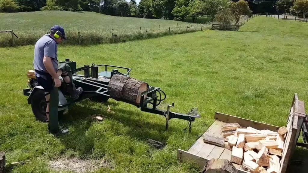 Two Way Homemade Log Splitter
