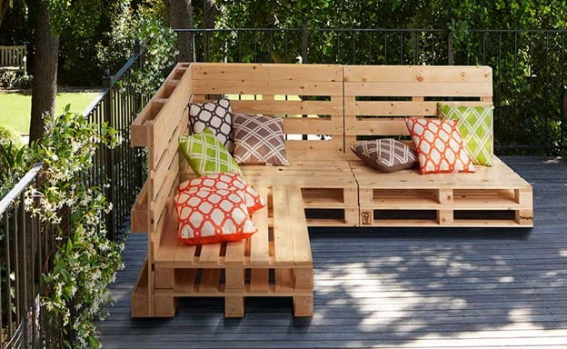 Upgraded Pallet Furniture