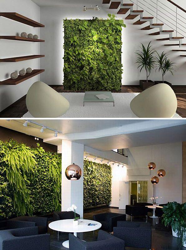 Vertical Planter for Living Room