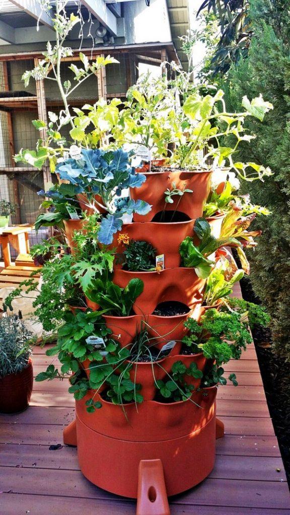 Vertical Pot Tower