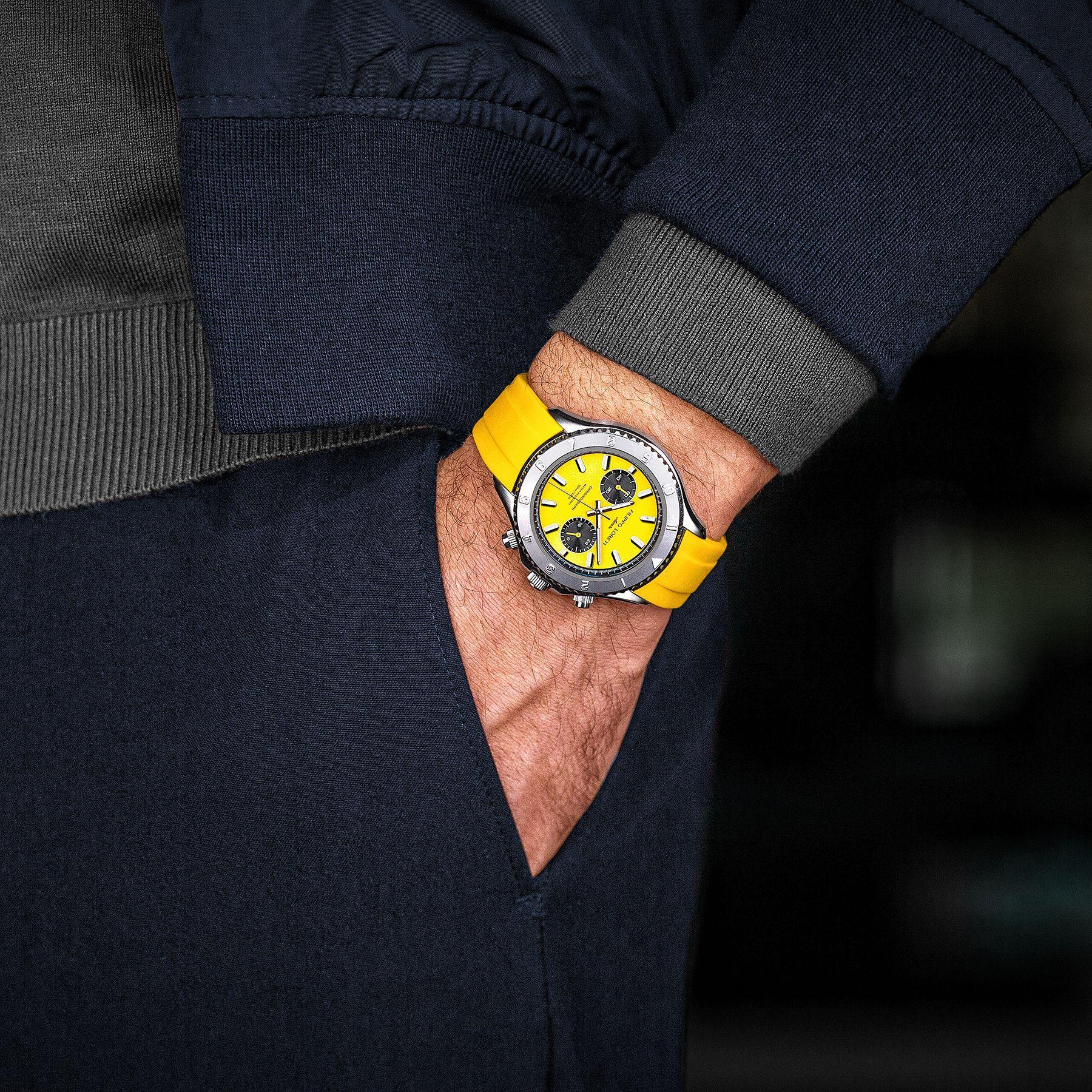 Ascari Tuscany Rubber Men's Watch from Filippo Loreti