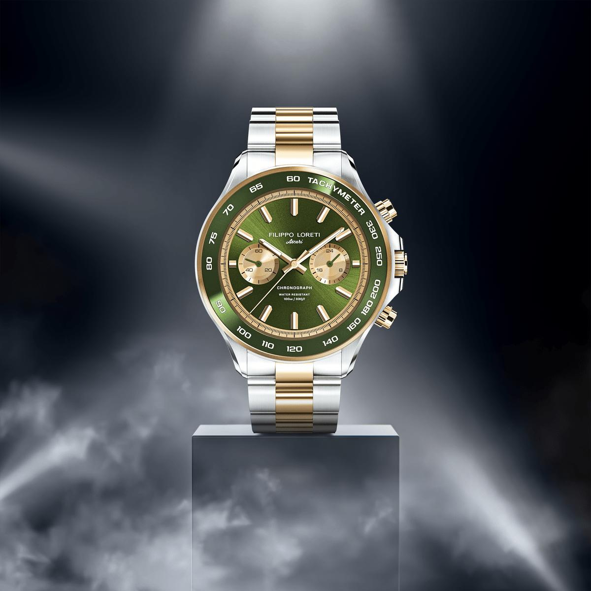 Ascari Two Tone Moss Men's Watch from Filippo Loreti