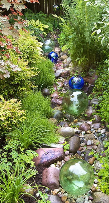 Add Jewels to Your Dry Creek Bed
