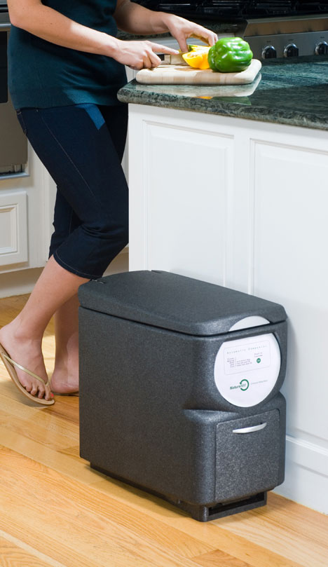 Naturemill Composter in Kitchen