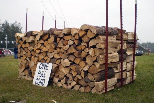 Bush Cord of Firewood