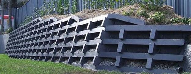Crib Retaining Wall