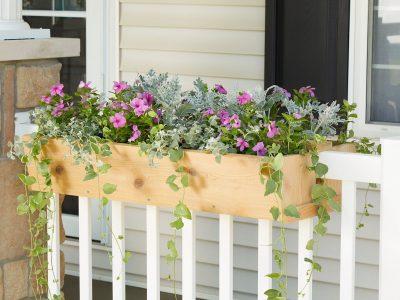 DIY Fence Planter Box Ideas