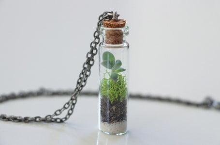 Mini Terrarium Necklace