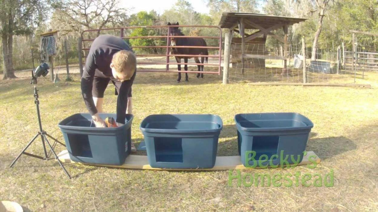Plastic Storage Pot