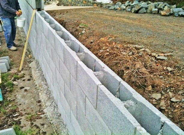Reinforced Retaining Wall
