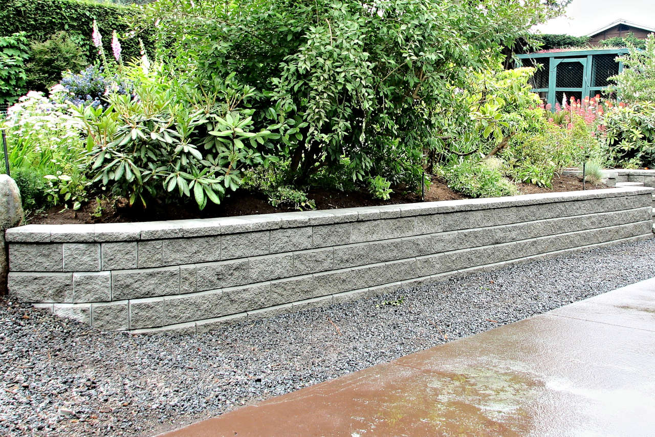 Removing Retaining Wall