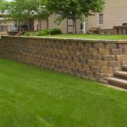 Retaining Wall Front Yard