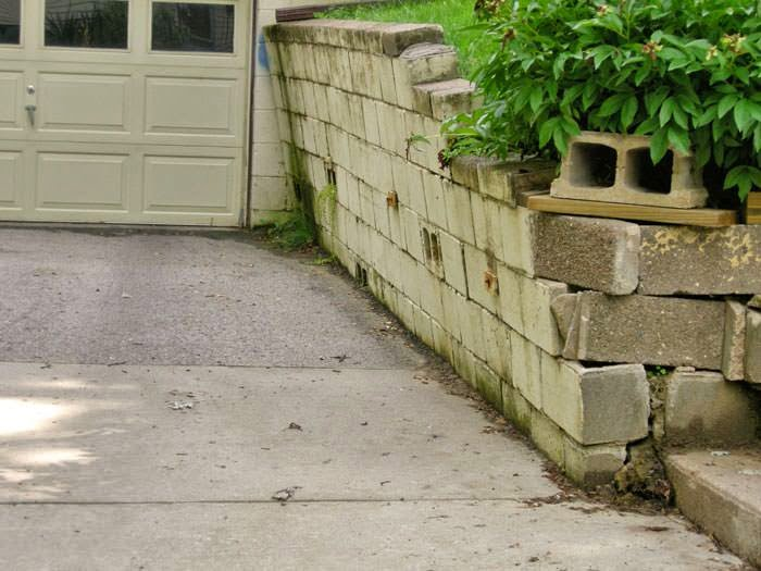 Retaining Wall Removal