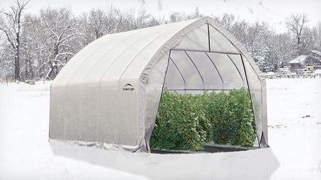 Temperature of An Unheated Greenhouse