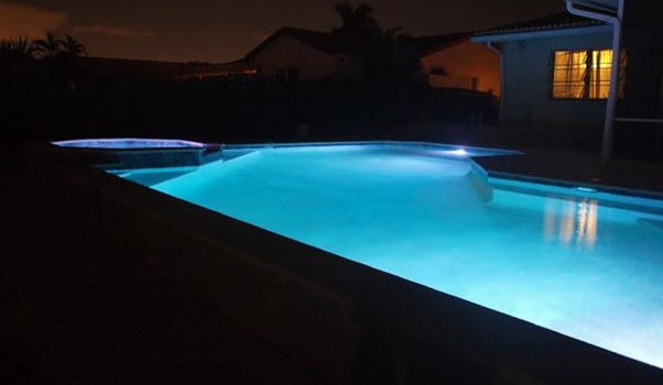 Turn-off the Pool Lights at Night