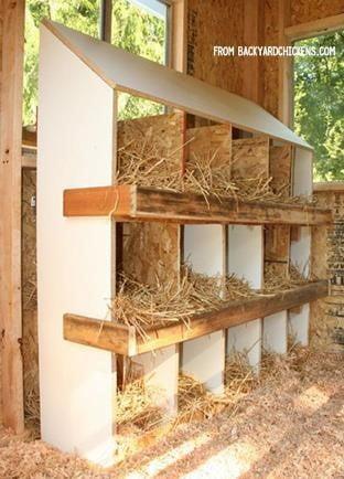 Wooden Chicken Box
