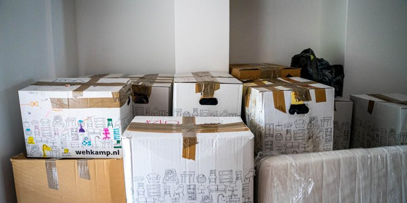 Boxes stacked on top of each other Description automatically generated with medium confidence