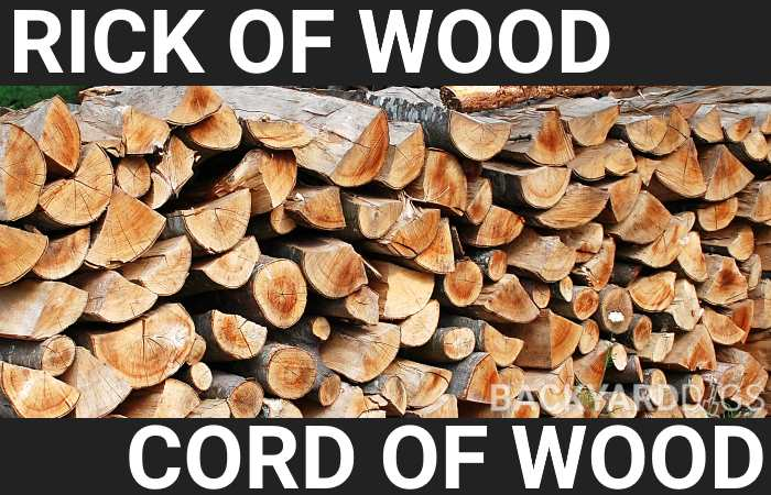 rick vs cord of wood