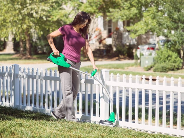 A Cordless String Trimmer