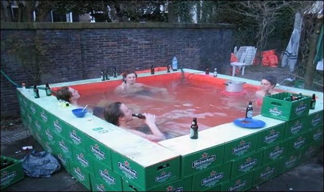 Beer Crates Pool