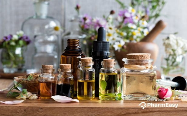 Essential oils and products