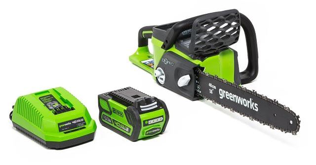 Greenworks 40v Chainsaw Review