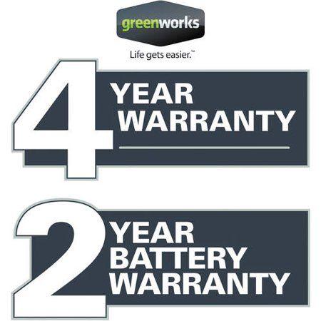 Greenworks Warranty