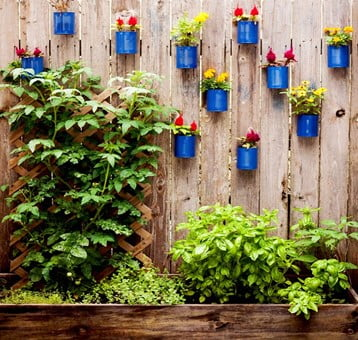 Hanging Flowerpot Fence Planter