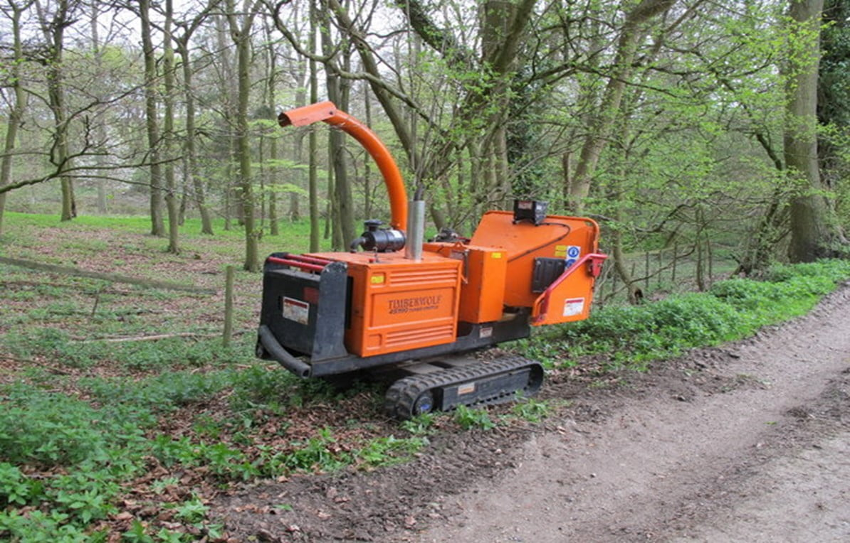 How Does a Woodchipper Works