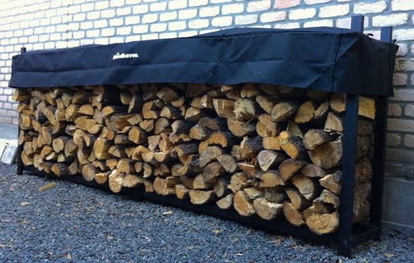 How Much Wood Is There in a Rick of Firewood