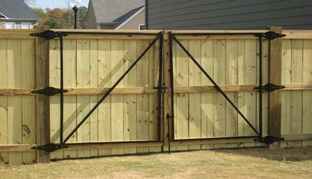 How To Fix a Sagging Double Gate